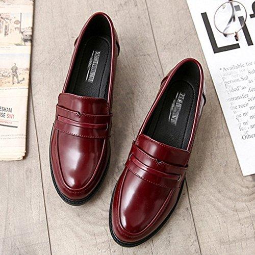 Piatto Delle Comodità Oxford Basso Business Slip Casuale Scarpe Classici Mocassini Donne on Di Giy Vestito A O7PA5Bwq