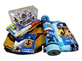Paw Patrol Bathroom Set, Shower Curtain, Hooks, Bath Rug, Bath Towel, and Bath Tub Mat