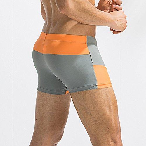 Nuoto Pantaloncini Grigio Traspiranti Da Tronchi Costumi Pantaloni Pantalone Uomo Bagno Kword Fxqv4YZdFw