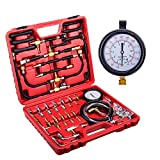 Orion Motor Tech Master Fuel Injection Pressure Tester Gauge Kit, 0-140PSI/10 Bar
