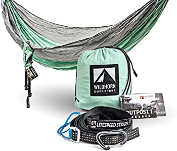 WildHorn Outfitters Outpost Double/Single Camping Hammock