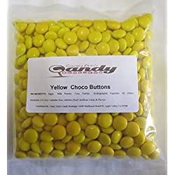 Yellow Choco Candy Buttons 1 lb Bag