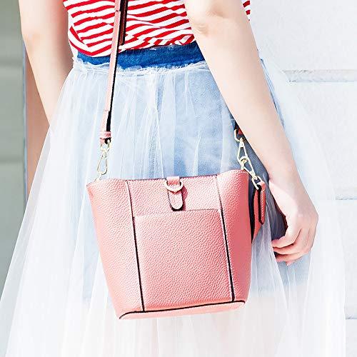 Tracolla Borsa Coreana Da Versione Della Borsa Da Borsa Moda A Donna Red Semplice Donna Di OOUYBrq