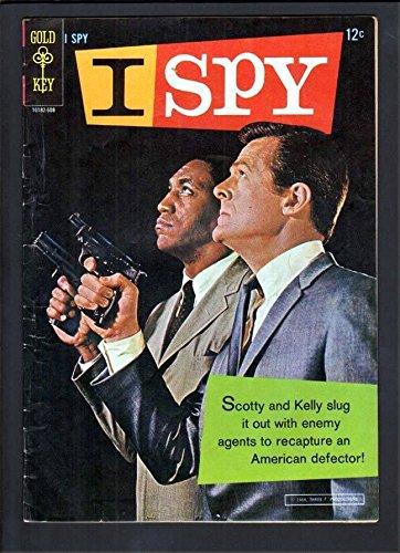 I SPY #1 5.0 VGF 1966 GOLD KEY TV CIA BILL COSBY ROBERT CULP PHOTO (Bill Cosby Robert Culp Photo)