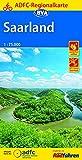 ADFC-Regionalkarte Saarland, 1:75.000, reiß- und wetterfest, GPS-Tracks Download (ADFC-Regionalkarte 1:75000)