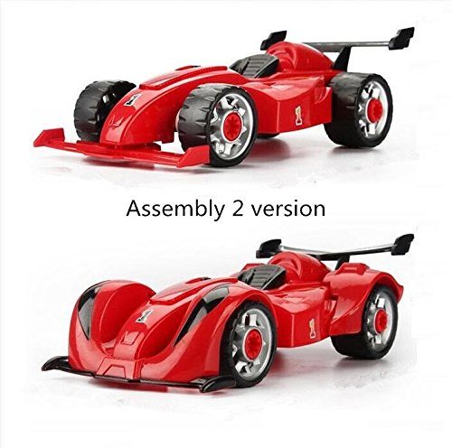 Quweishou Racing Take-A-Part Toy Build Your Own Racing Car ...