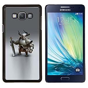 Dragon Case - FOR Samsung Galaxy A7 - Viking knight swordsman cgi graphics - Caja protectora de pl??stico duro de la cubierta Dise?¡Ào Slim Fit