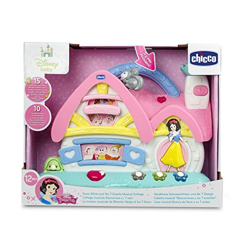 chicco snow white and 7 dwarfs musical cottage baby toys. Black Bedroom Furniture Sets. Home Design Ideas