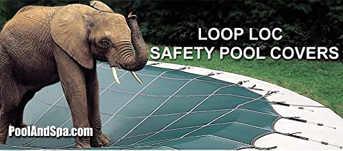 (18 x 36 Rectangle Loop-Loc Safety Pool Cover)
