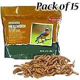 BestNest Gardman Dried Mealworms, 52.5 ounces