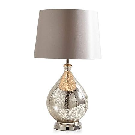 Desk Lamps Lámpara de Mesa Moderna, grieta Textura de Cristal ...