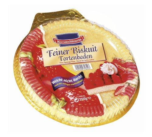 Kuchenmeister Feiner Bisquit Tortenboden 6er Pack 6 X 250 G