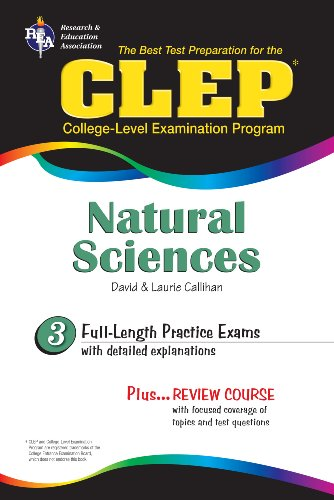 CLEP Natural Sciences (REA) (CLEP Test Preparation)