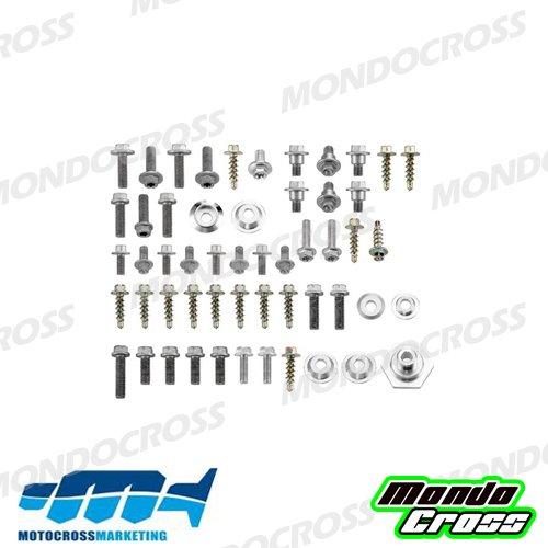 MONDOCROSS Kit completo viti fissaggio plastiche HUSQVARNA 125 TC 14-15 125 TE 14-16 250 FC 14-15 250 FE 14-16 250 TC 14-16 250 TE 14-16 300 TE 14-16 350 FC 14-15 350 FE 14-16 450 FC 14-15 450 FE 14-16 501 FE 14-16 KTM 125 EXC 12-16 125 SX 11-15 150 SX 11-