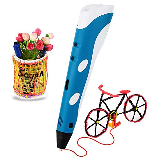 Soyan Standard 3D Printing Pen for Kids, with ABS Filament Sample and Drawing templates