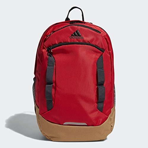 adidas Excel Backpack, Med Red, One Size