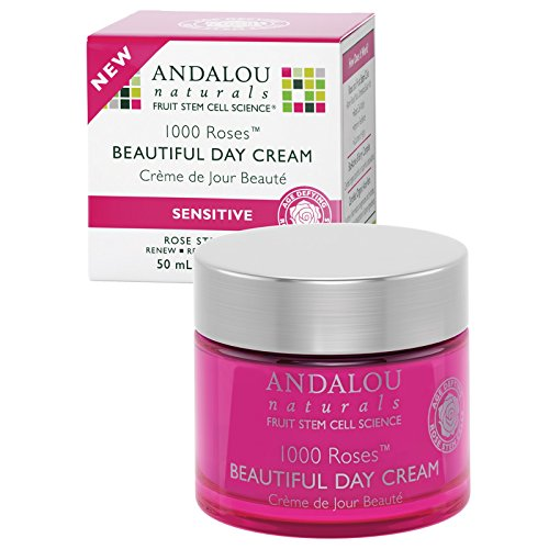 Andalou Naturals 1000 Roses Beautiful Day Cream 1.7 oz(pack of 2) For Sale