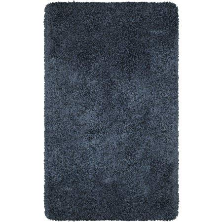 """Better Homes & Gardens Thick and Plush Nylon Bath Rug Collection, 30""""x46"""", Insignia Blue from Maples Industries Inc."""