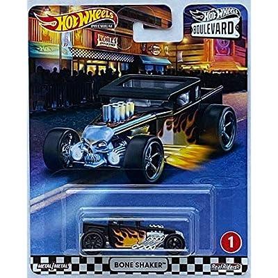 Hot Wheels 2020 Boulevard Series Bone Shaker Real Riders: Toys & Games