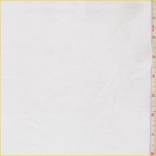 (Cloud White Stretch Corduroy, Fabric by The Yard)