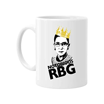 f89bbce32ff Image Unavailable. Image not available for. Color: Notorious RBG Ruth Bader  Ginsburg Coffee Mug Funny Tea Cup Gift ...