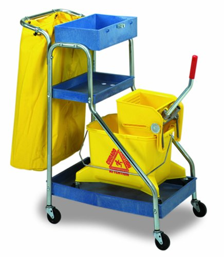 Continental 271, Blue Port-A-Cart Janitor Cart (Case of 1)