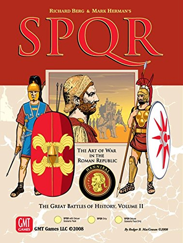 SPQR (Deluxe 3rd Edition) by GMT Games