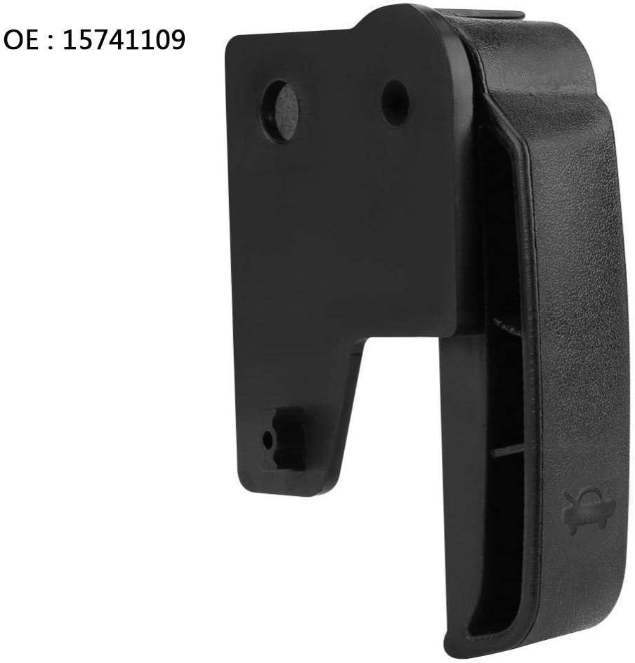 15741109 Hood Latch Release Handle Auto Hood Release Pull Handle Compatible with 1995-2007 Chevrolet Chevy GMC Cadillac C3500 C1500 K1500