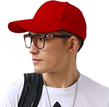 Baseball Cap Polo Style Classic Sports Casual Plain Sun Hat Solid Color Adjustable Lightweight Breathable Soft for Men