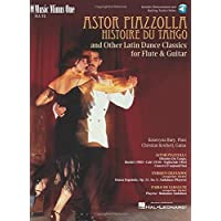 Image for Piazzolla: Histoire Du Tango and Other Latin Classics for Flute & Guitar Duet: Music Minus One FLUTE Edition