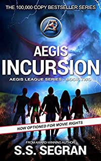 Aegis Incursion by S.S. Segran ebook deal