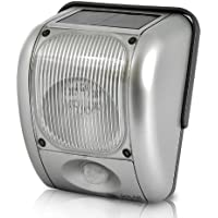 Solar and Dynamo Powered Outdoor Security Light - Motion Detection, 200 Lumen