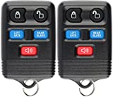 KeylessOption Keyless Entry Remote Control Car Key Fob Clicker Replacement for Navigator CWTWB1U551 (Pack of 2)