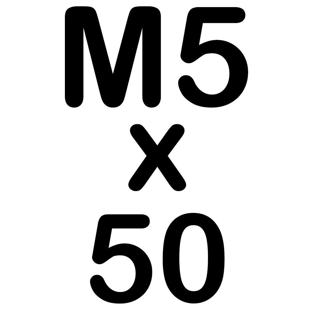 50 Sechskantschrauben Edelstahl M10 x 140 mm Vollgewindeschrauben Schrauben DIN 933 A2