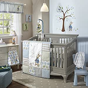 Lambs & Ivy Peter Rabbit Crib Set, 4 Count