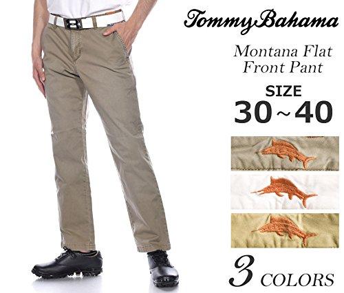 Tommy Bahama  Men's Montana Flat Front Pants Chino Pants -