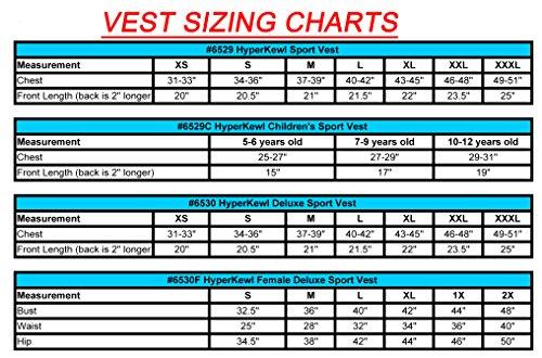 HyperKewl Cooling Sport Vest - Enhance your performance in the Heat! - -PINK-LRG