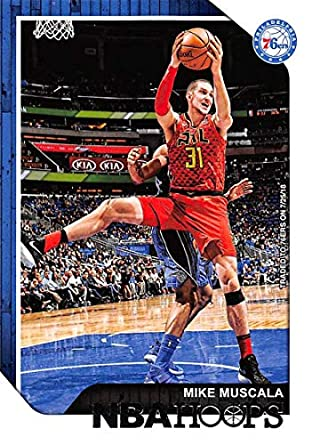 1b326aca8 2018-19 Panini Hoops  51 Mike Muscala Philadelphia 76ers NBA Basketball  Trading Card
