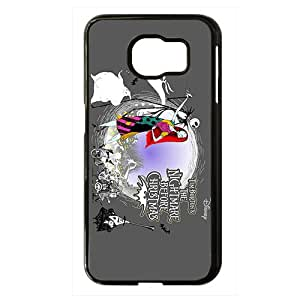 The Nightmare Before Christmas Black Phone Case for Samsung S6