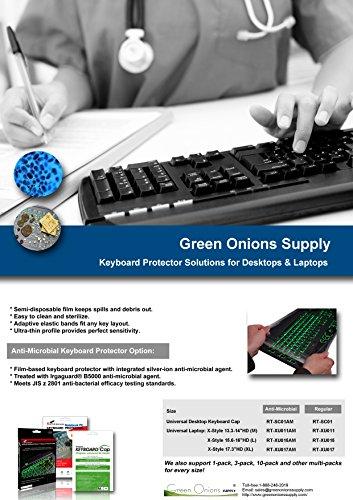 Green Onions Anti-Microbial Keyboard Cap (RT-SC0110AM)