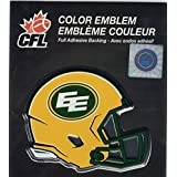 CFL Edmonton Eskimos Raised 3D COLOR Metal Auto Emblem