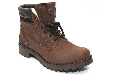 Wrangler Creek Damenschuhe Leder Fur Hiking Walking Ankle Stiefel Größe UK UK Größe ... e28f28