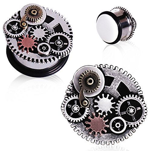 0g steampunk plugs - 1