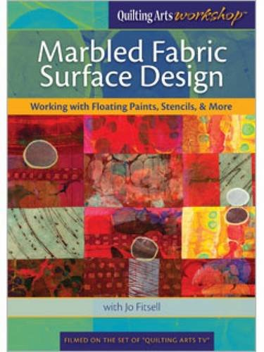 Fabric Design Shop (Marbled Fabric Surface Design: Working with Floating Paints, Stencils, & More)