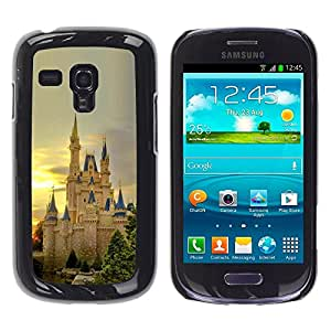 Impact Case Cover with Art Pattern Designs FOR Samsung Galaxy S3 MINI 8190 Nature European Castle Betty shop