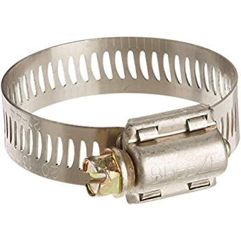 Breeze Miniature Stainless Steel Hose Clamp 5//16 Bandwidth Worm-Drive 7//32 to 5//8 Diameter Range Model: Car//Vehicle Accessories//Parts SAE Size 4 Pack of 10