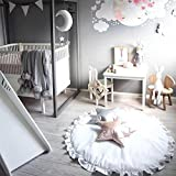 Leegor Baby Infant Creeping Mat Cartoon Playmat Blanket Play Game Mat Room Decoration Photography Props (G)