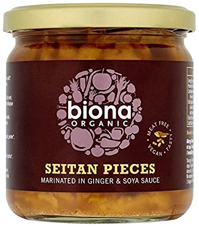 Biona Organic - Seitan Pieces (in Soya Sauce & Ginger) - 350g