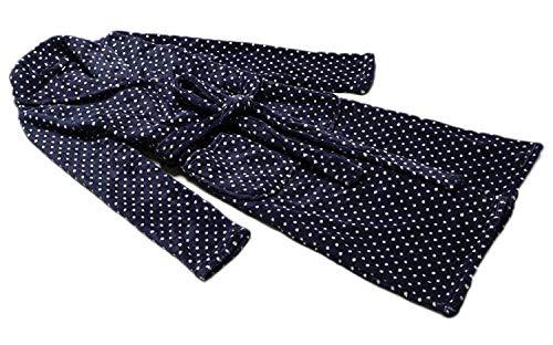 Largo Mantón Clásico Para Bordado Coral De Vintage Spa Transpirable Lujo Albornoz Bata Mujer Suave Cashmere Pijama Collar Azul Y 7Ewdx7aqpf