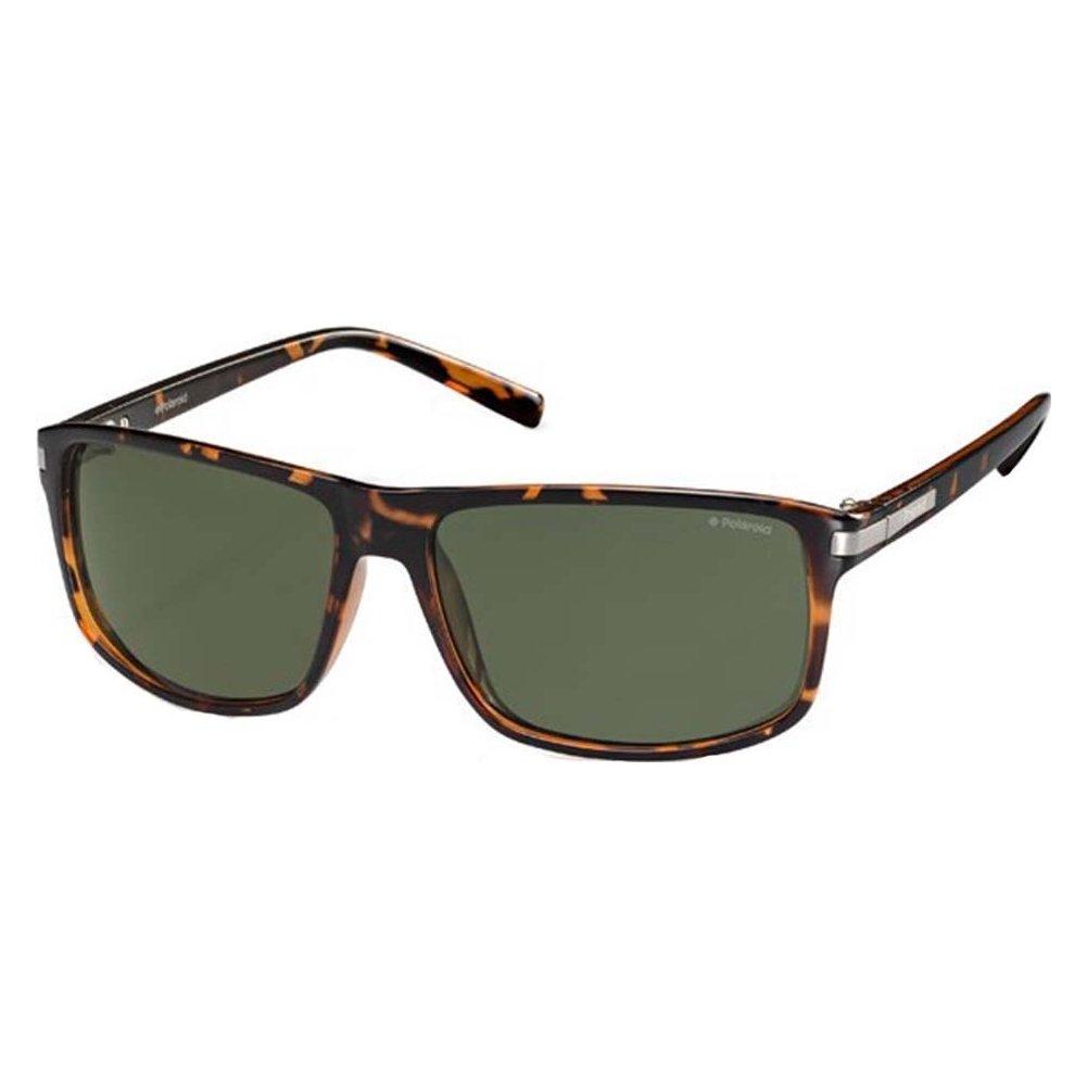 Polaroid PLD 2019/S PZO Tortoise PLD 2019/S Rectangle Sunglasses Polarised Lens